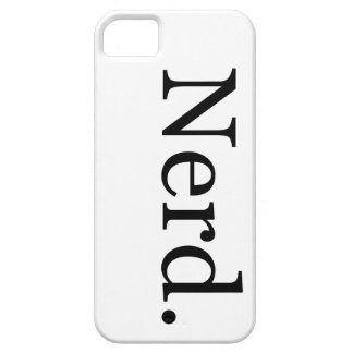 Nerd iPhone Case Barely There iPhone 5 Case