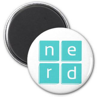 Nerd is the Word 6 Cm Round Magnet