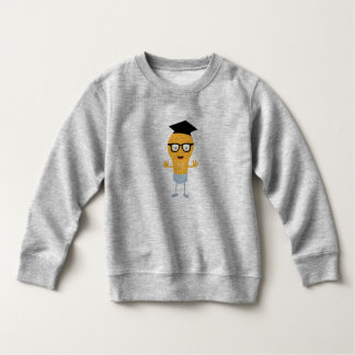 Nerd light bulb with glasses Zh171 Sweatshirt