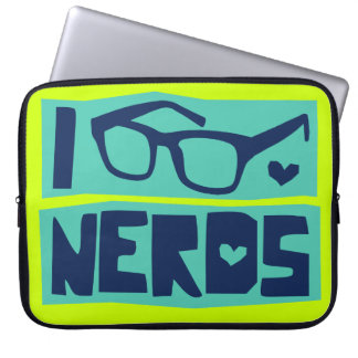 Nerd Love Laptop Sleeve