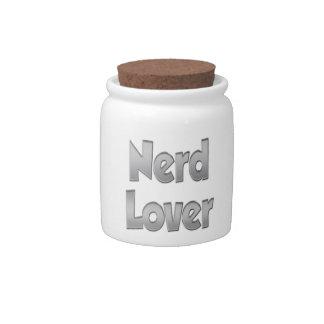 Nerd Lover Grey Candy Dish