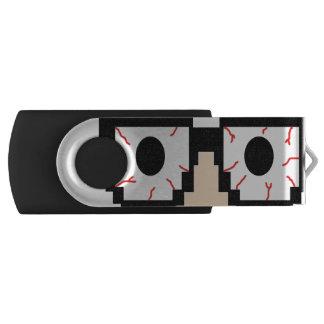 Nerd Martial Arts Flashdrive Swivel USB 3.0 Flash Drive