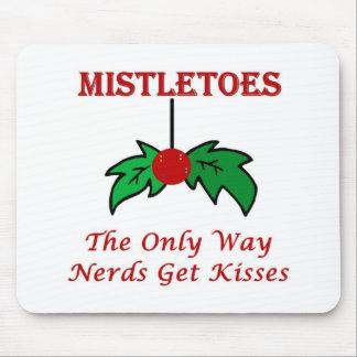 Nerd Mistletoe Full Mouse Pads