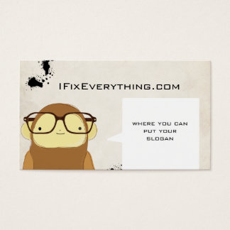 nerd monkey business