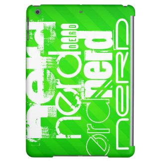 Nerd; Neon Green Stripes