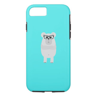 Nerd Polar Bear Q1Q iPhone 8/7 Case