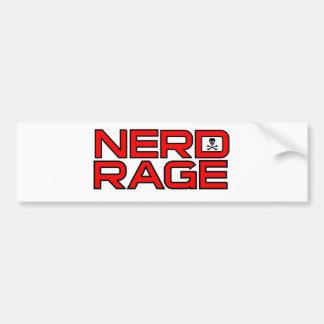 NERD RAGE BUMPER STICKER