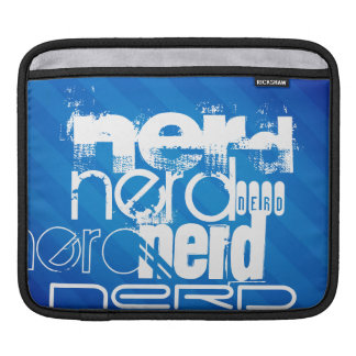 Nerd; Royal Blue Stripes Sleeve For iPads