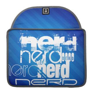 Nerd; Royal Blue Stripes Sleeve For MacBooks