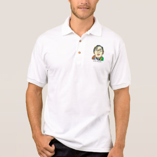 Nerd Sketch Polo Pocket Shirt