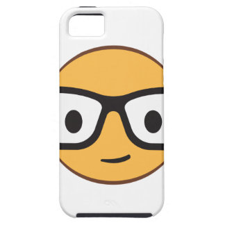 nerd smile face AdobeStock_122200113.ai iPhone 5 Cover
