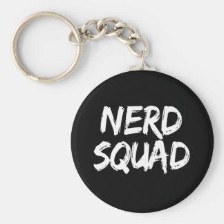 Nerd Squad Print Key Ring