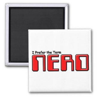 Nerd Square Magnet