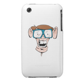 Nerd with Glasses Case-Mate iPhone 3 Cases