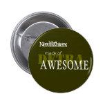 Nerdfighter Made of Awesome - Cust... - Customised Badge
