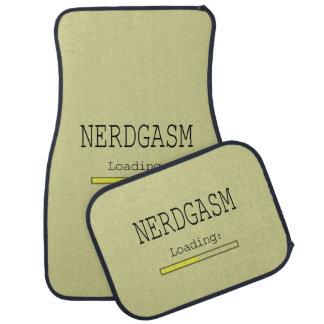 Nerdgasm Loading (with Data Bar) Floor Mat