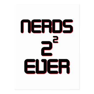 Nerds 4 Ever Postcard
