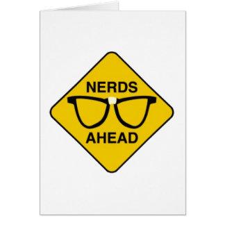 Nerds Ahead Card