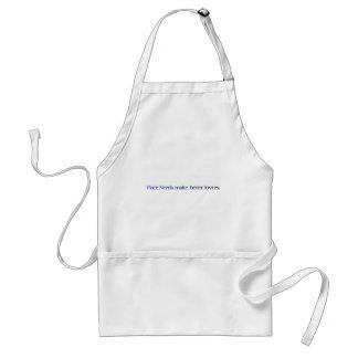nerds make better lovers apron