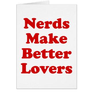 Nerds Make Better Lovers Card