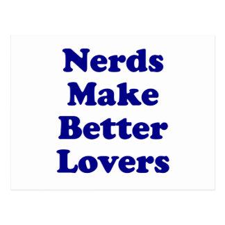 Nerds Make Better Lovers Postcard
