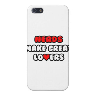 Nerds Make Great Lovers iPhone 5 Cases