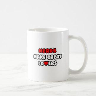 Nerds Make Great Lovers Coffee Mugs