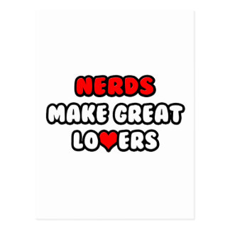 Nerds Make Great Lovers Postcard