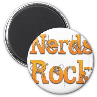 Nerds Rock 2.jpg 6 Cm Round Magnet