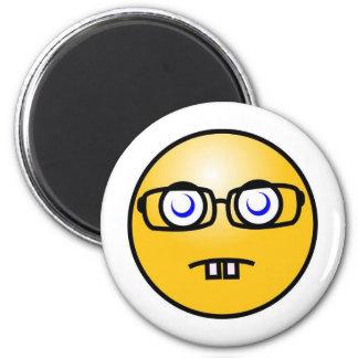Nerds Rock! 6 Cm Round Magnet