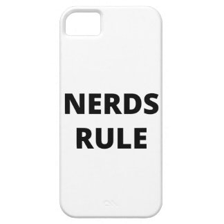 Nerds Rule iPhone 5 Cover