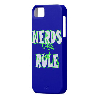 Nerds rule humor funny iPhone 5 cover