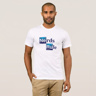 Nerds Rule Periodic Table Men's T-Shirt