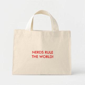 NERDS RULE THE WORLD! MINI TOTE BAG