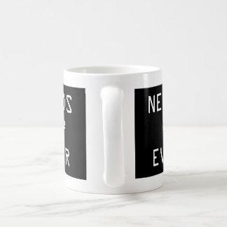 Nerds Two Squared (4) Ever Basic White Mug