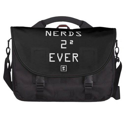 Nerds Two Squared (4) Ever Laptop Commuter Bag