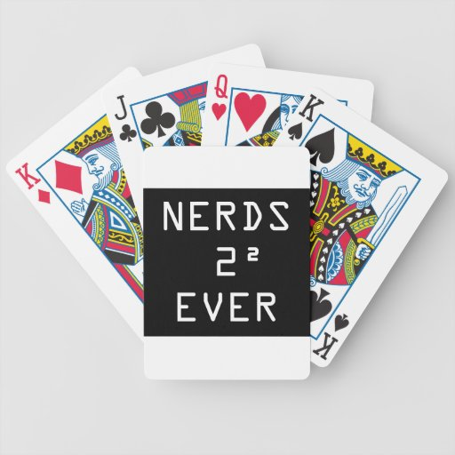 Nerds Two Squared (4) Ever Poker Deck