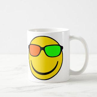 NerdSmiley 3D Basic White Mug