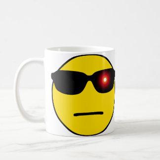 NerdSmiley Terminator Basic White Mug