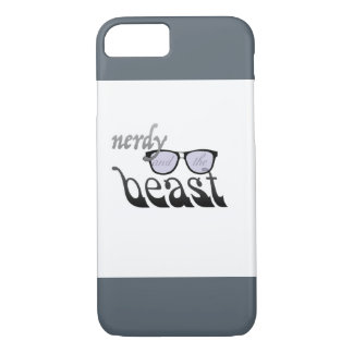 Nerdy and the beast iPhone 7 case