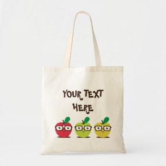 Nerdy Apples Tote Bag