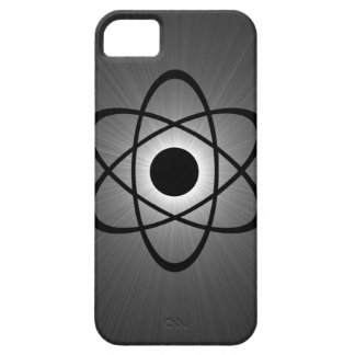 Nerdy Atomic BT iPhone 5 Case, Gray iPhone 5 Cover