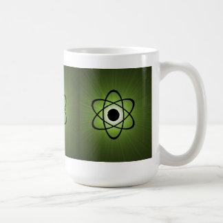 Nerdy Atomic Mug, Green
