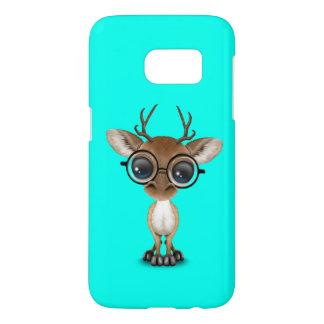 Nerdy Baby Deer Wearing Glasses
