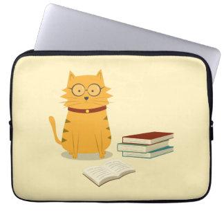 Nerdy Cat Laptop Sleeve