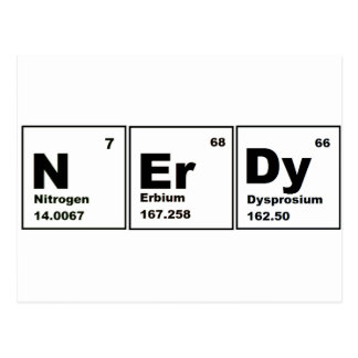 Nerdy Chemistry Product! Postcard