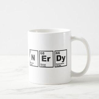 Nerdy Elements Basic White Mug
