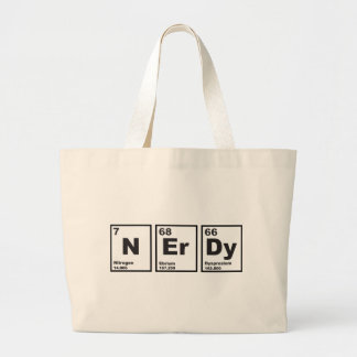 Nerdy Elements Jumbo Tote Bag
