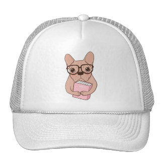 Nerdy French Bulldog Cap