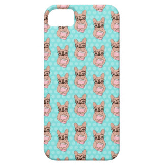 Nerdy French Bulldog Case For The iPhone 5
